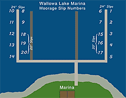 wallowa lake marina boat slips tn